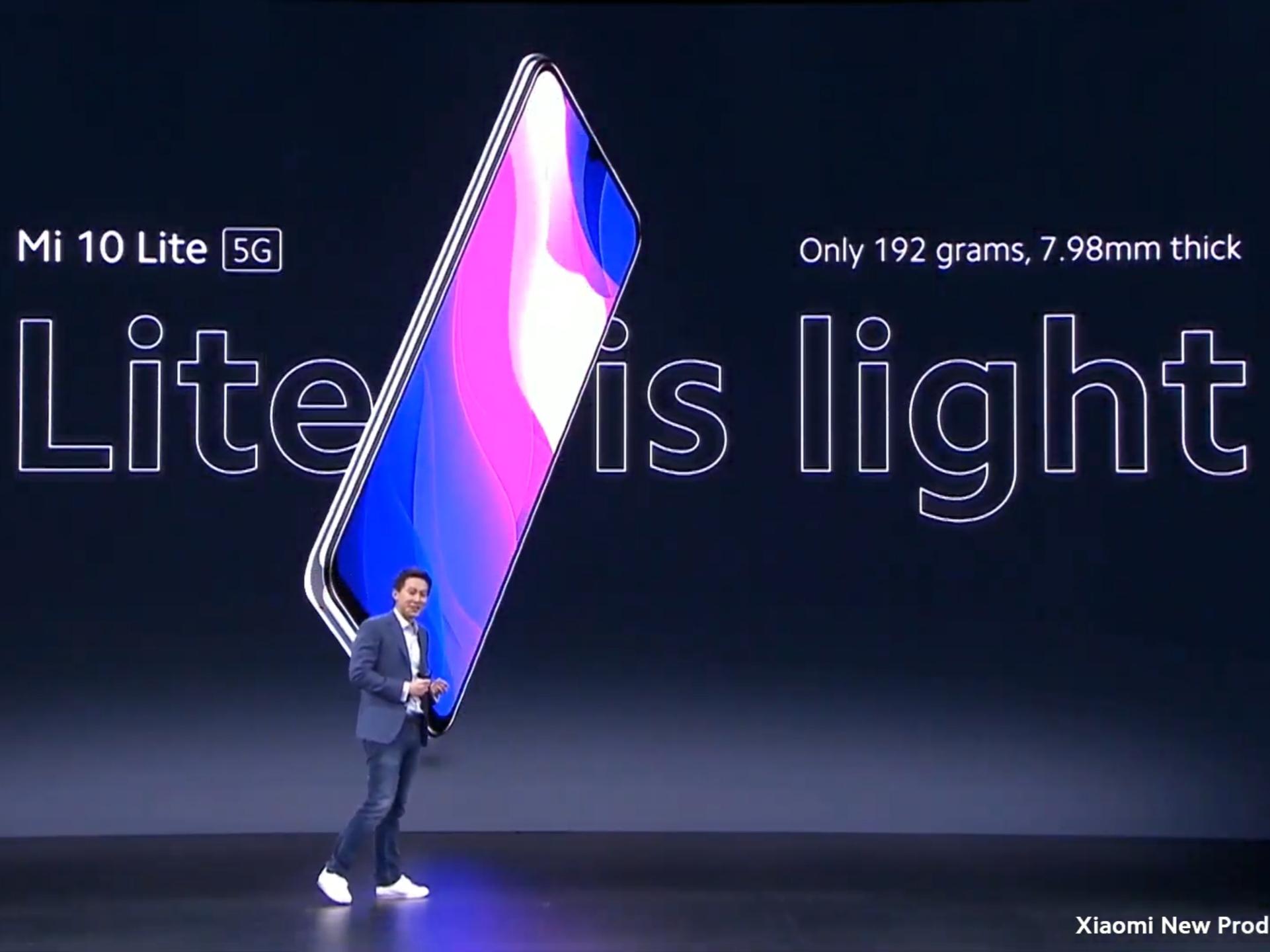 auからも発売されるMi 10 Lite 5Gの詳細がXiaomiから発表!気になる値段は?