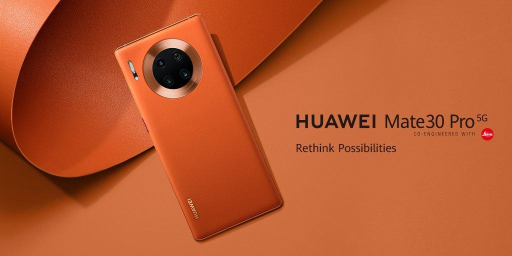 HUAWEI Mate 30 Pro 5G を国内販売へ(GMS非搭載)